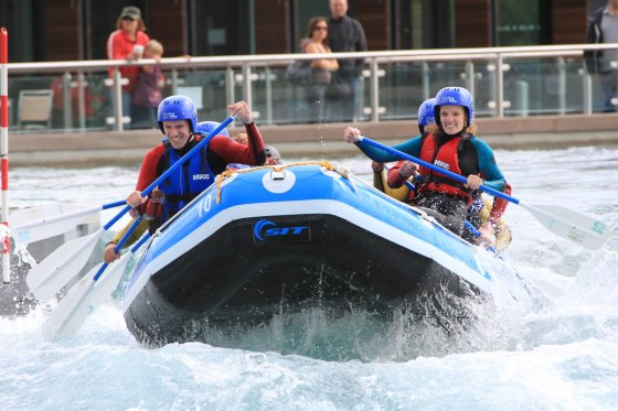 White water Rafting- Melissa, Personal trainer