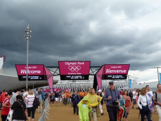 Olympics entrance