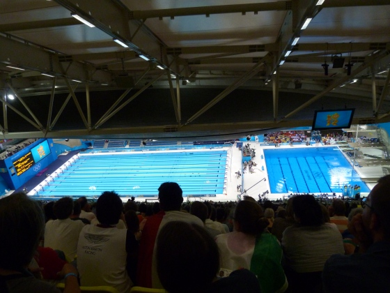 In the Athletic Centre, London 2012 Olympics